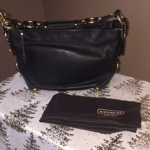 Coach Carly Leather shoulder bag